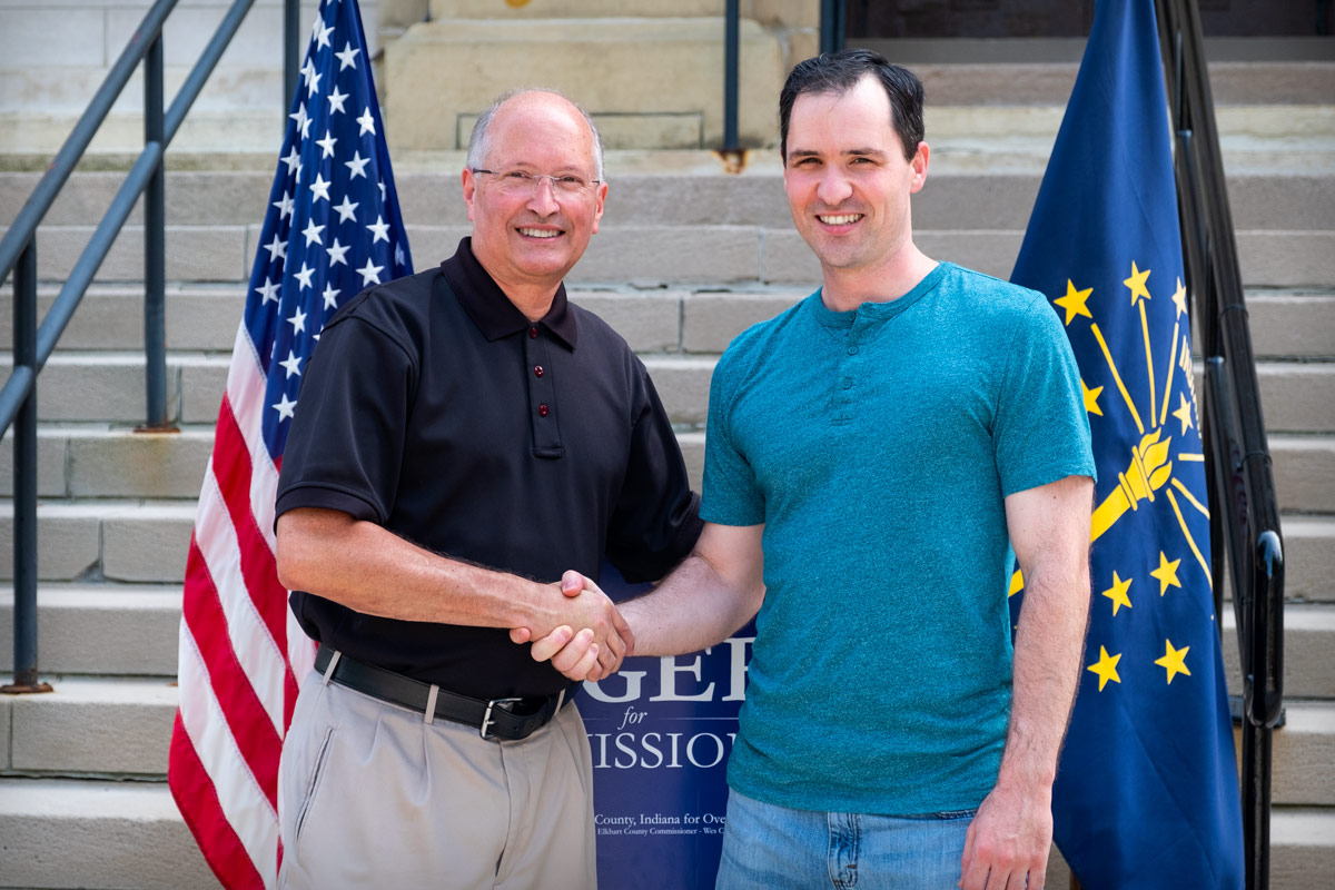 Councilman Mike Orgill of Goshen endorses Brad Rogers for Elkhart County Commissioner