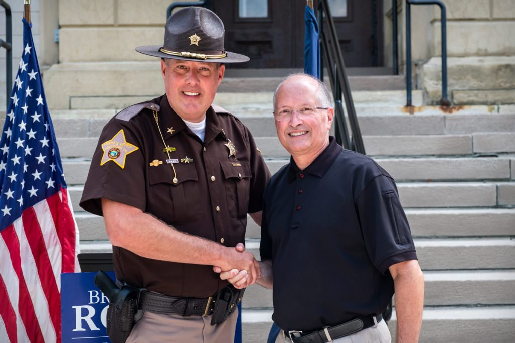 Sheriff Kyle Dukes endorses Brad Rogers for Elkhart County Commissioner - Elkhart County Board of Commissioners