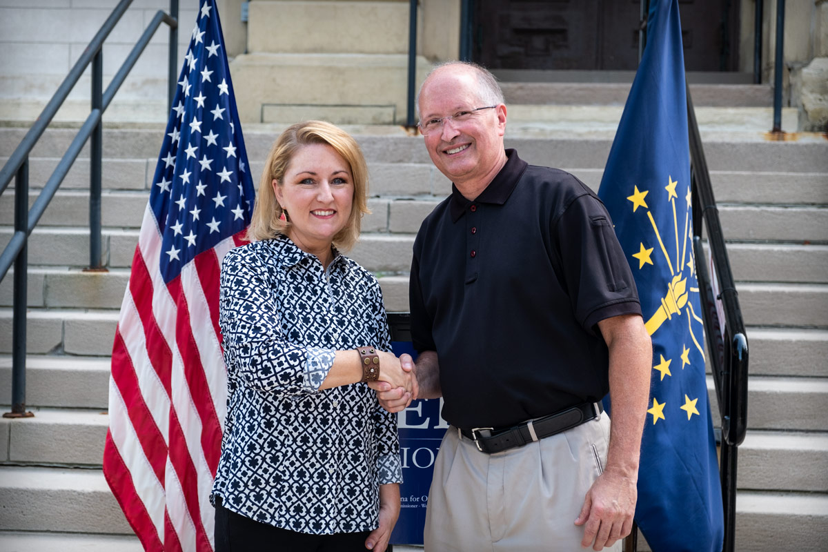 Rep. Christy Stutzman endorses Brad Rogers for Commissioner - Elkhart County Board of Commissioners